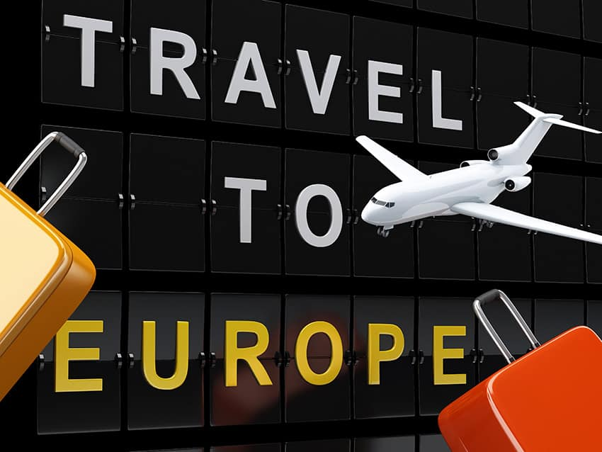 טקסט נסיעה לאירופה